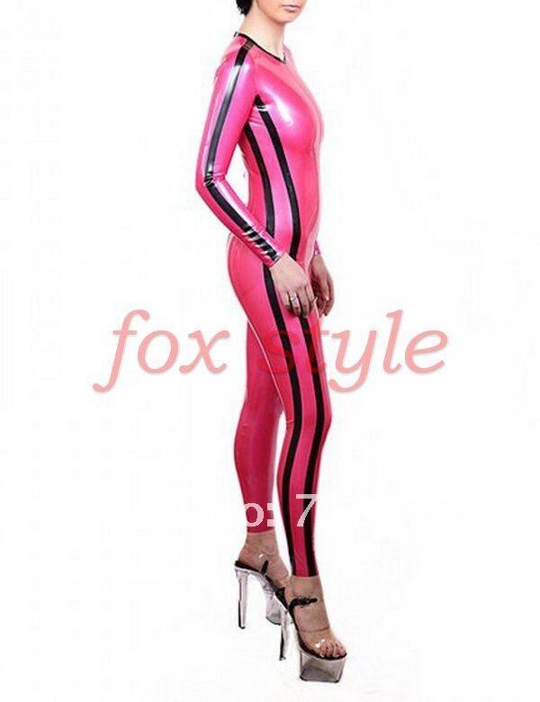 latex close fitting garment