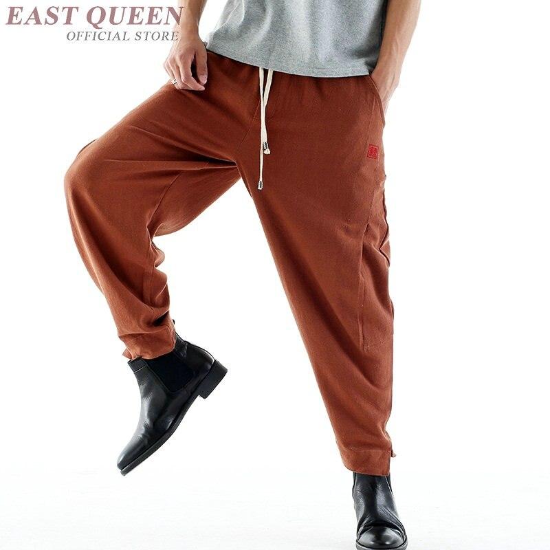Мужские льняные брюки, брюсовая форма для кунг фу FF816|Штаны| | АлиЭкспресс