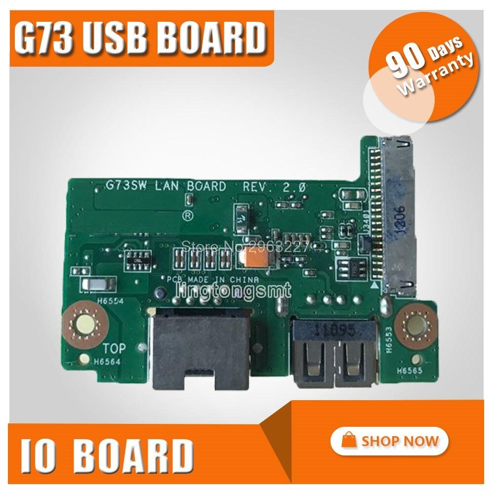Interfaz de Cable USB WLAN IO para For Asus G73 G73S G73J...