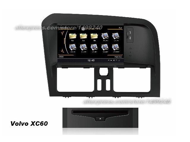 Para volvo xc60 2008 2010 2011 2012 2013 2014 sistema de navegação gps do carro multimídia rádio cd dvd player hd tela exibição tv