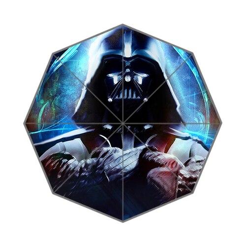 Brand New High Quality  Star Wars Three Folding Sunny and Rainly Umbrella UMN04