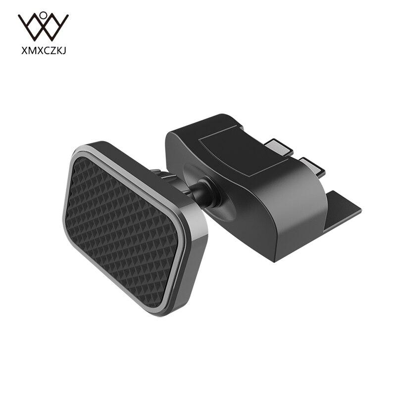 Soporte magnético para montaje de teléfono de coche XMXCZKJ, soporte CD para coche para iPhone XS MAS X 8 8 Plus 7, soporte Universal para teléfono móvil con ventilación de aire