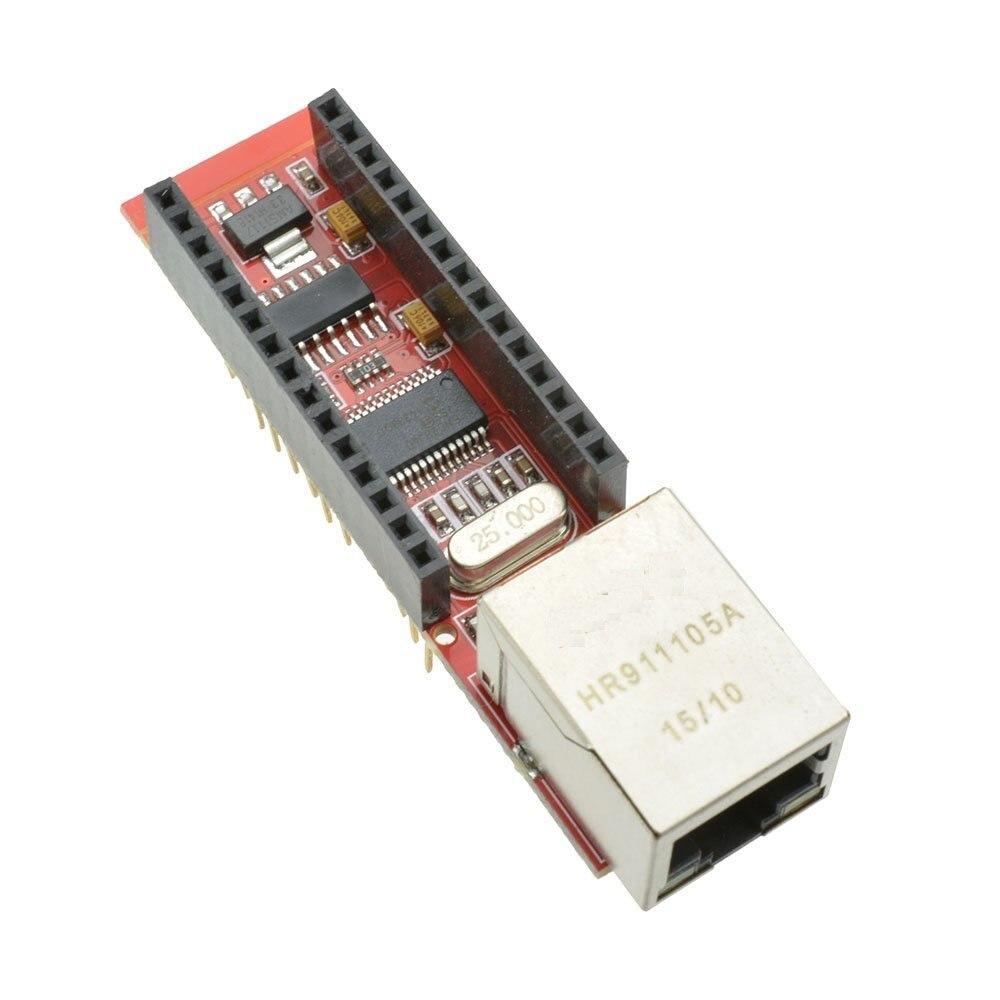 1 шт. Новый ENC28J60 Ethernet щит для Arduino Nano 3,0 RJ45 Модуль веб-сервера