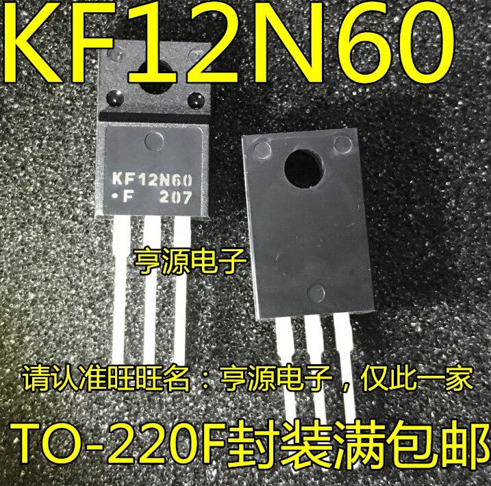 50psc/lote nuevo Original KF12N60F 12N60 TO-220F en Stock (gran descuento si necesitas más)