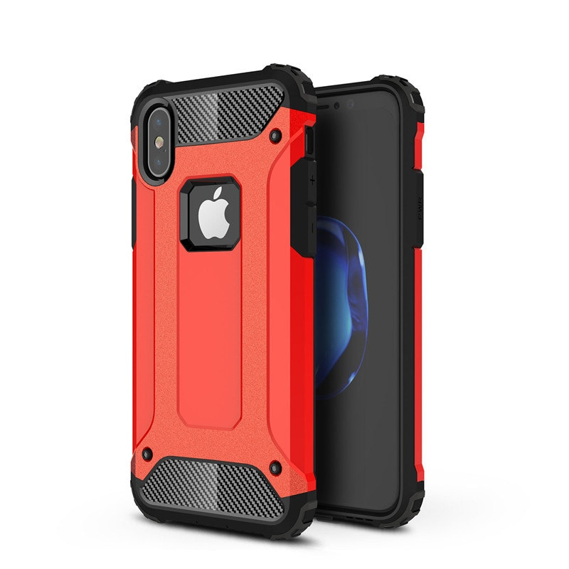 Coque arrière de téléphone robuste antichoc hybride pour iPhone 11 Por MAX XR X XS 8 7 6S Plus 5