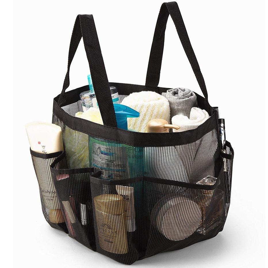 Basedidea Сетчатая Сумка для душа быстросохнущая Сумка-тоут для душа пляжная ванная душевая сумка органайзер для хранения туалетных принадлежностей