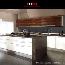 MDF keukenkasten in zowel wit en houtnerf afwerking