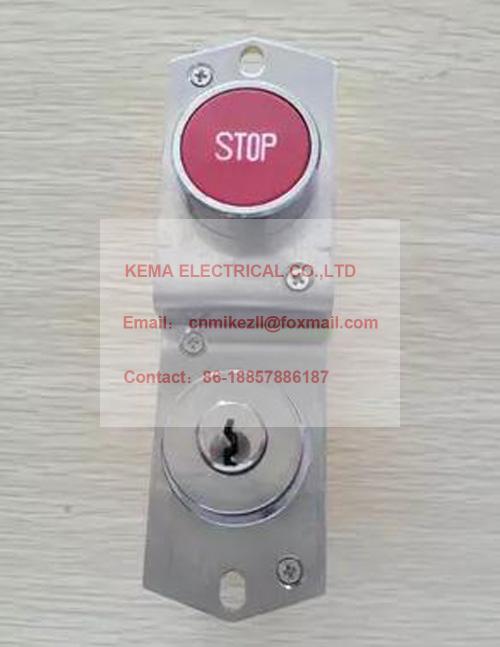 Rolltreppe notfall stop-taste schalter/aufzug 823 notfall schalter lock