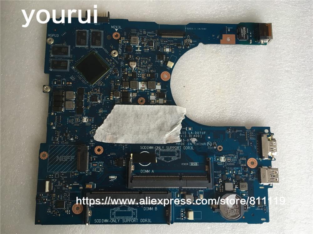 Yourui 3JXDM 03JXDM CN-03JXDM ل انسبايرون 15 5559 i5559 اللوحة المحمول 15-5559 15.6
