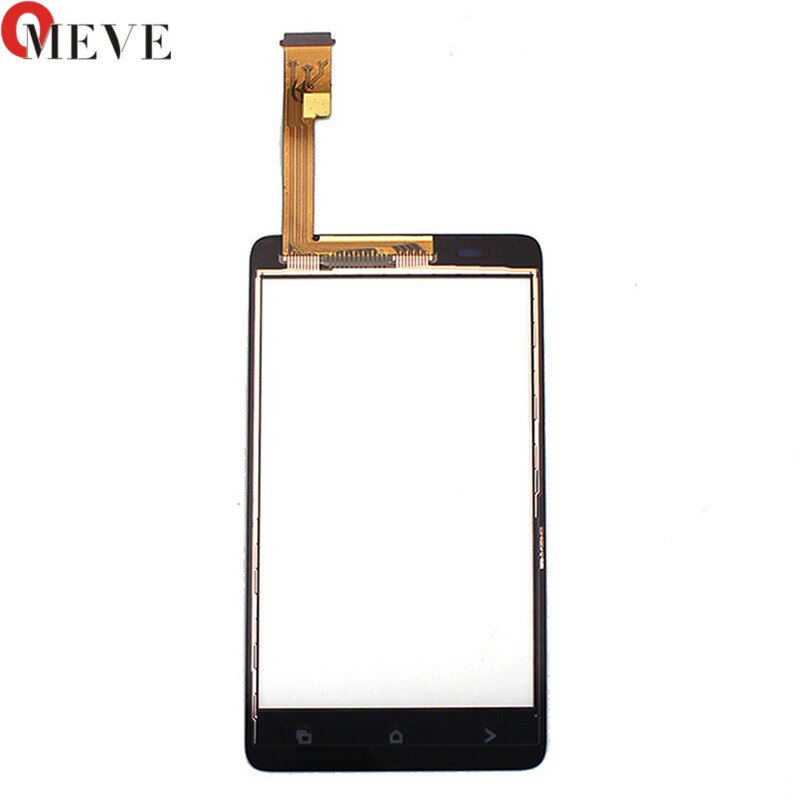 Negro para HTC Desire 400 doble T528w digitalizador pantalla táctil Sensor vidrio reemplazo