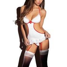 Mujeres, mujer sexy traje de enfermera traviesa Lencería HEN FANCY DRESS traje de fiesta