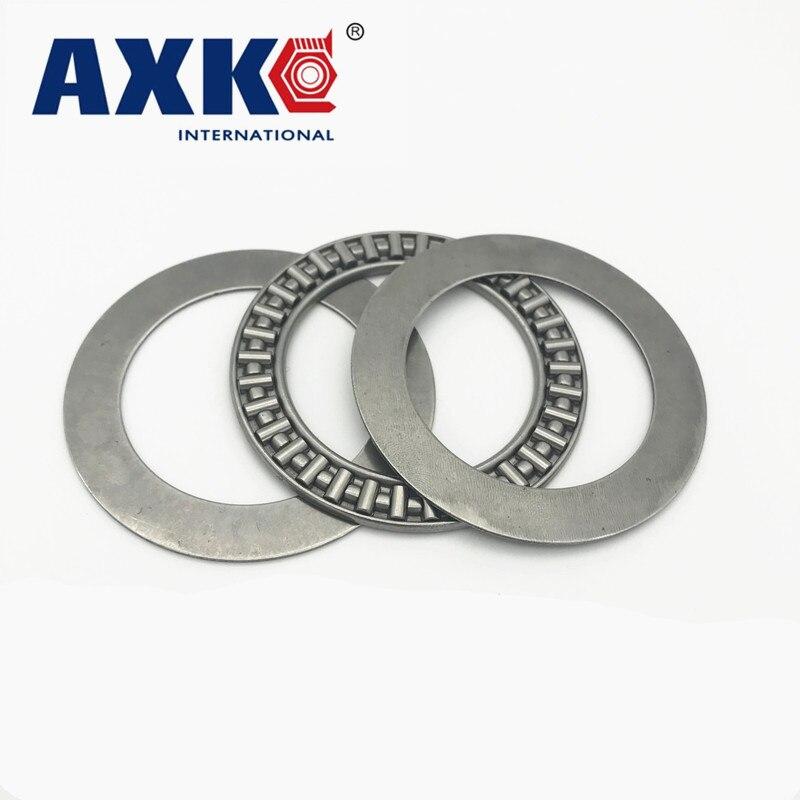 AXK0619/0821/1024/1226/1528/1730/2035/2542/3047/3552/4060/4565/6085/6590/7095 + 2AS Упорный игольчатый подшипник AXK, 5 шт.
