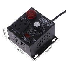 4000W AC 220V SCR Electronic Voltage Regulator Thyristor Electronic Controller D22 dropship