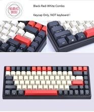Keycool 84 Mini Mechanische Toetsenbord Pbt Keycap Mini84 Compact Spel Toetsenbord Side Print Keycaps Retro Dolch Cherry Mx Toetsen