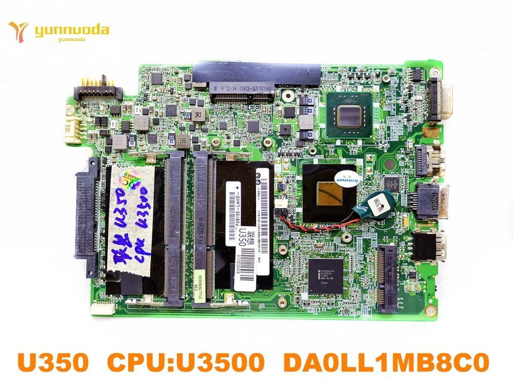 الأصلي لينوفو U350 اللوحة المحمول U350 CPUU3500 DA0LL1MB8C0 اختبار جيد شحن مجاني