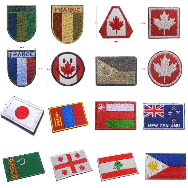 Etiqueta de tela con doble cara, parches F2/FELIN Badge, distintivos de Charrette, parche de mochila bordado