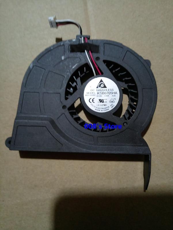 Кулер для ноутбука Samsung RV411 RV415 RV420 RV509 RV511 RV515 RV520 E3415 E3420 RC410 RC420 KSB0705HA -AJ2L 5V 0.40A