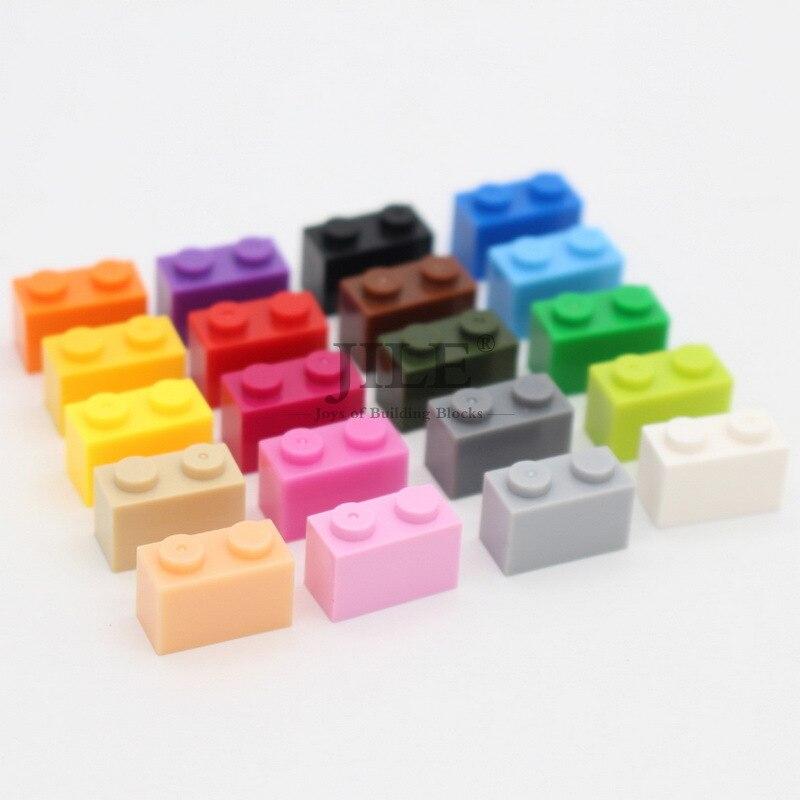 Креативный конструктор Moc 1x2 3004, базовые строительные блоки «сделай сам», классические наборы, совместимые Детские сборки, игрушки для детей