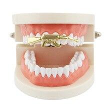 Accolades orthodontiques accolades dentaires alignement formateur dents retenue accolades plateau Hip Hop bretelles simples haut bas personnalisé dents