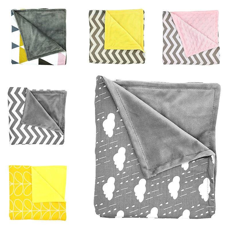 Baby Blanket Newborn Sleeping Soft Blanket Infant Swaddle Nap Receiving Stroller Wrap For Newborn Baby Bedding Blankets