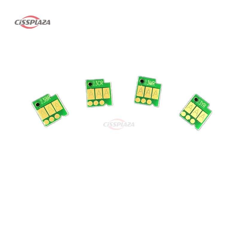 CISSPLAZA 1 4 Uds LC663 arco chip Reset Auto Chip para hermano MFC-J2320 MFC-J2720 J2320 J2720 impresora LC665 LC669