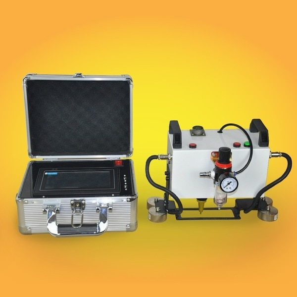 Low Cost Portable CNC Dot Peen Marker,High Quality Pin Marking Machine For Metal, easy carry and no need PC any more enlarge