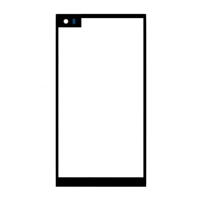"50 unids/lote negro para LG V20 H990 H910 H918 LS997 US996 VS995 frente de vidrio 5,7 ""Pantalla táctil LCD exterior pieza de reparación de lente de Panel"