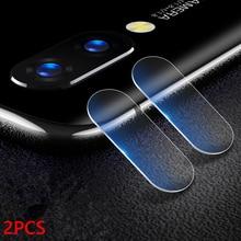 2 pièces verre dappareil photo pour Samsung Galaxy S10 S7 Edge S8 S9 S10 Plus S10e objectifs dappareil photo Film pour Samsung Note 5 8 9 Note8 Note9 Film