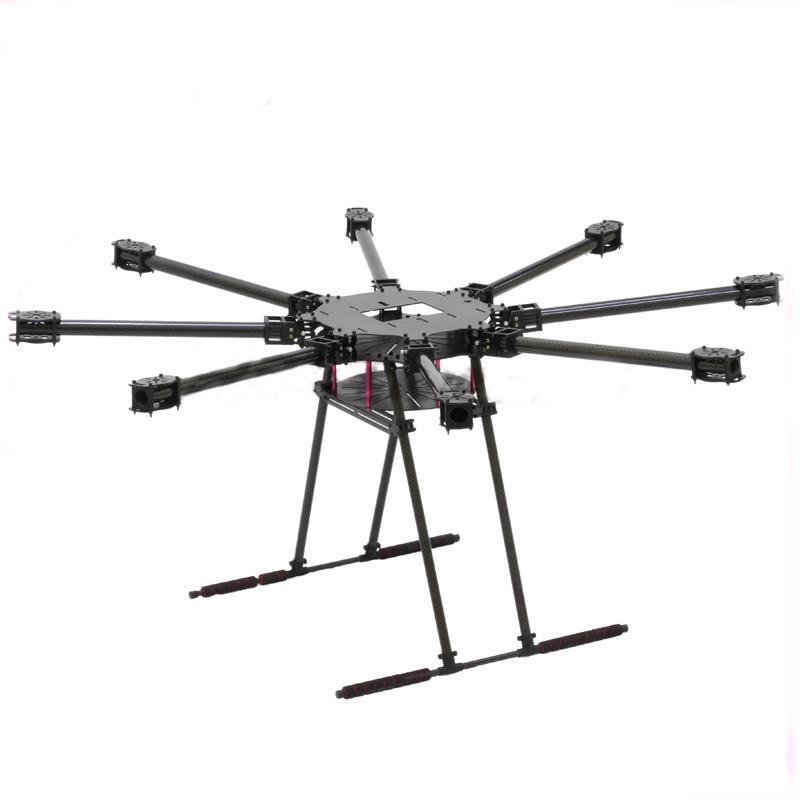 Lji ZD1100 Frame kit Eight-axis Carbon Fiber Folding rack Aerial Z8 Plus 1100 Drones kit Plant protection machine drone