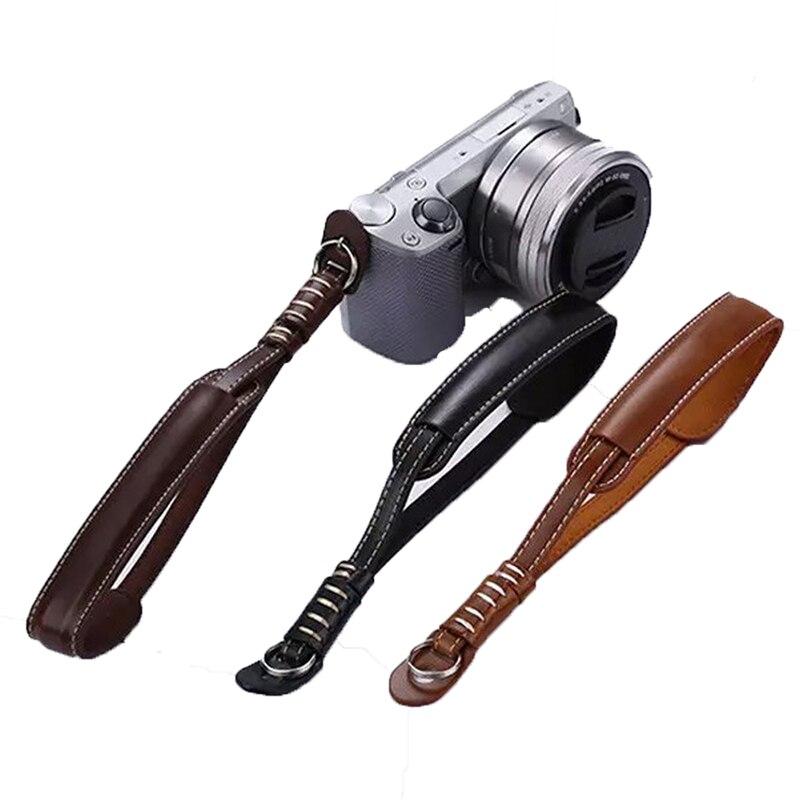 Micro Camera Wrist Strap PU Leather Hand Grip Rope Belt for Micro Camera sony nex7 nex5 nex3 a7 a7r nikon j1 j2 v1 v2 sumsang