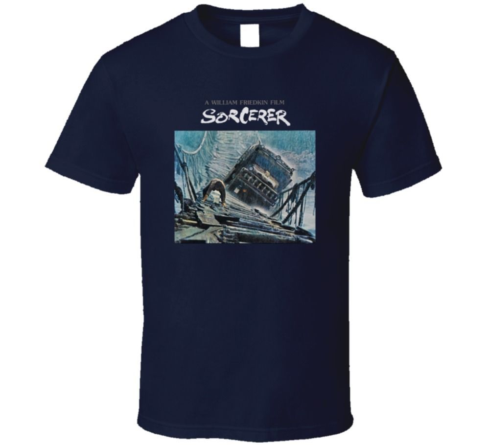 2019 nueva marca de moda ropa de algodón de manga corta verano camiseta hechicero William frikin película 70S película Fan Ringer camiseta