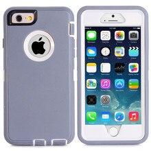 Mode Bunte Fall Für iPhone 6s Drehbare Zurück Clip Screen Protector Gürtel Clip 360 Grad Volle Körper Stoßfest Harte kunststoff