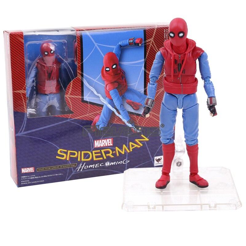 Человек-паук, домашний костюм Человека-паука. Игрушка из ПВХ