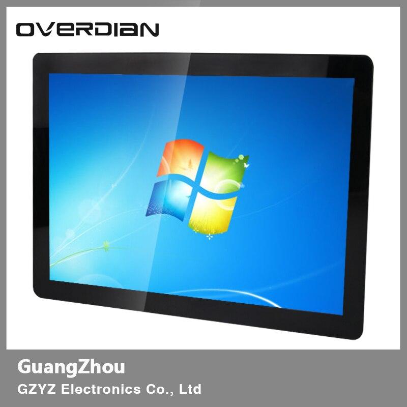 21 pulgadas/Monitor Lcd de 21,5 pulgadas/pantalla VGA/interfaz USB resistencia táctil Industrial hebilla de Metal las 169