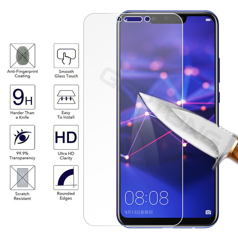 Tempered Glass For Huawei Mate 20 30 Lite P40 P30 P10 P20 Lite Pro Screen Protector For Huawei Honor