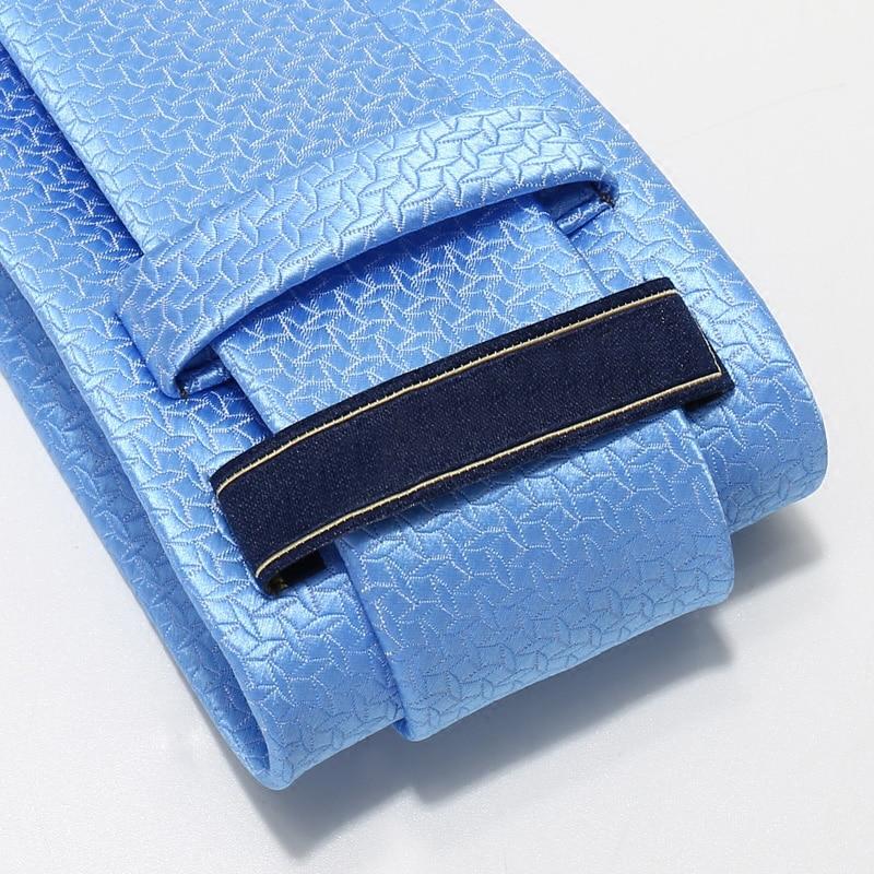 New Special Offer Adult Ties Blue Fashion Men's Dress Business Tie 7cm Wide Wedding Groom British Style Gift Box Necktie