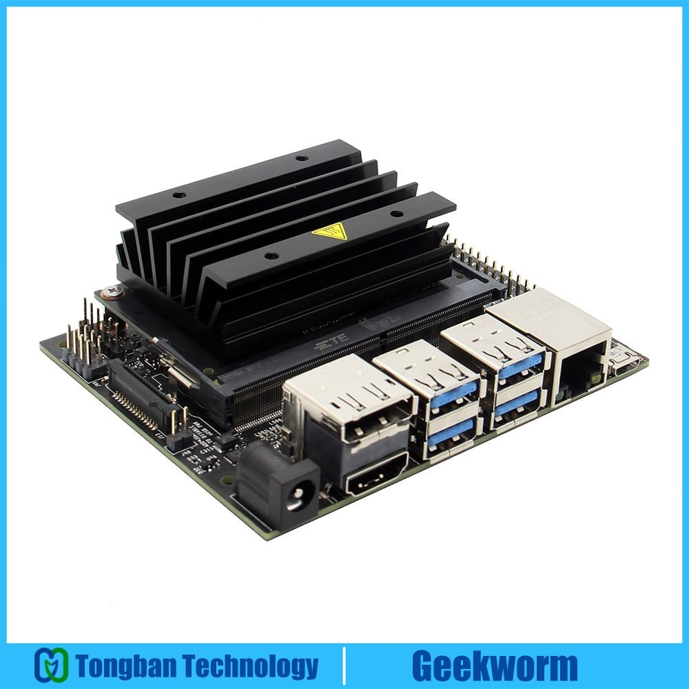 NVIDIA Jetson Nano Developer Kit для искусственного интеллекта/AI Computing совместимый с PyTorch/TensorFlow/Caffe