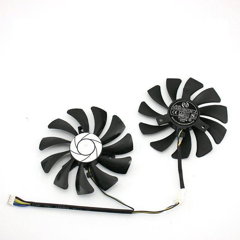 Nuevo Original para MSI P106 GTX 1060 ventilador de tarjeta de vídeo gráfica HA9010H12F-Z DC12V 3500RPM 12V 0.57A