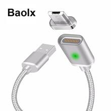 Câble magnétique Micro USB/Type C USB USB-C 3.1 données chargeur de téléphone câble aimant charge rapide pour téléphones portables Samsung Android