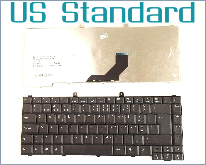 Teclado de diseño US para portátil, para Acer Aspire 5500, 5500Z, 5502,...