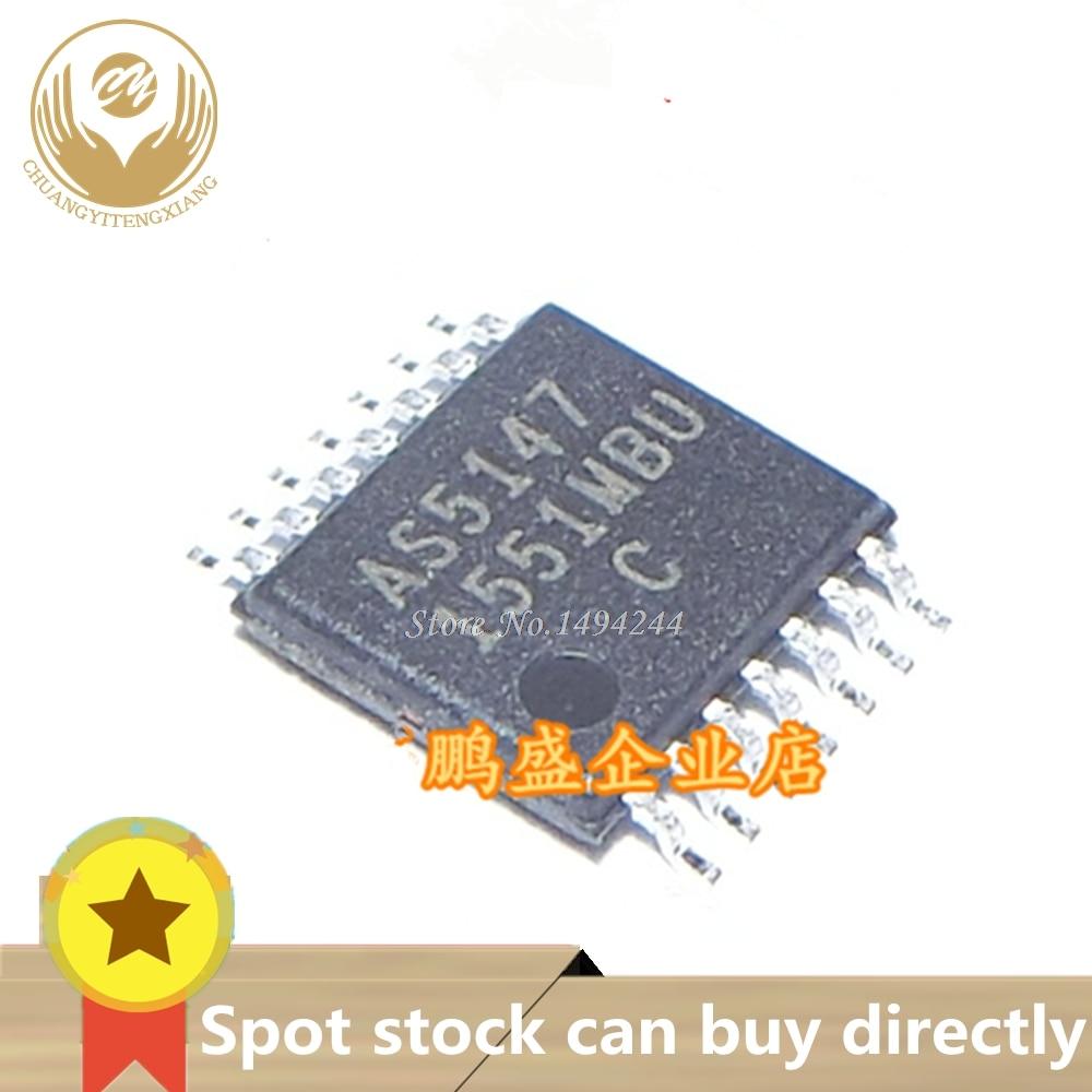 Spot AS5147 AS5147-HTSM AS5147-HTSMTR-ND TSSOP14, codificador magnético Marca de chip original novo 2 pçs/lote