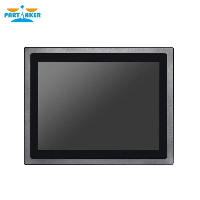 Z17 4G RAM 64G SSD 12 pulgadas IP65 impermeable sin ventilador incrustado pantalla táctil Linux Intel J1900 Rs232 Industrial Panel PC