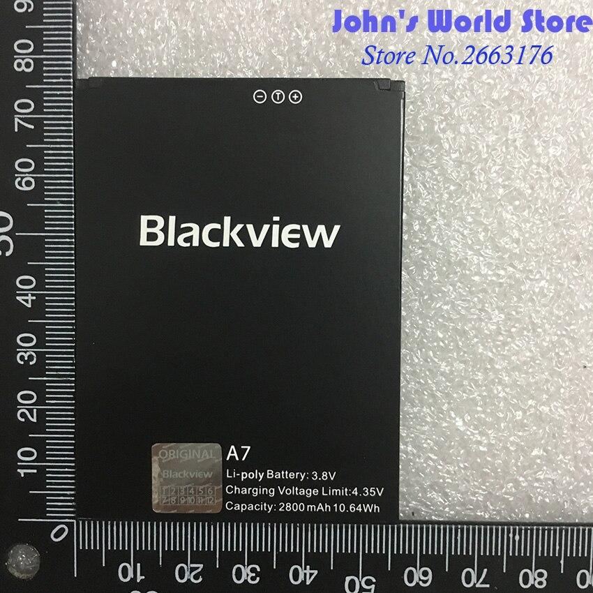 Аккумулятор для Blackview A7 2800 мАч, литий-ионный Резервный аккумулятор для Blackview A7 pro