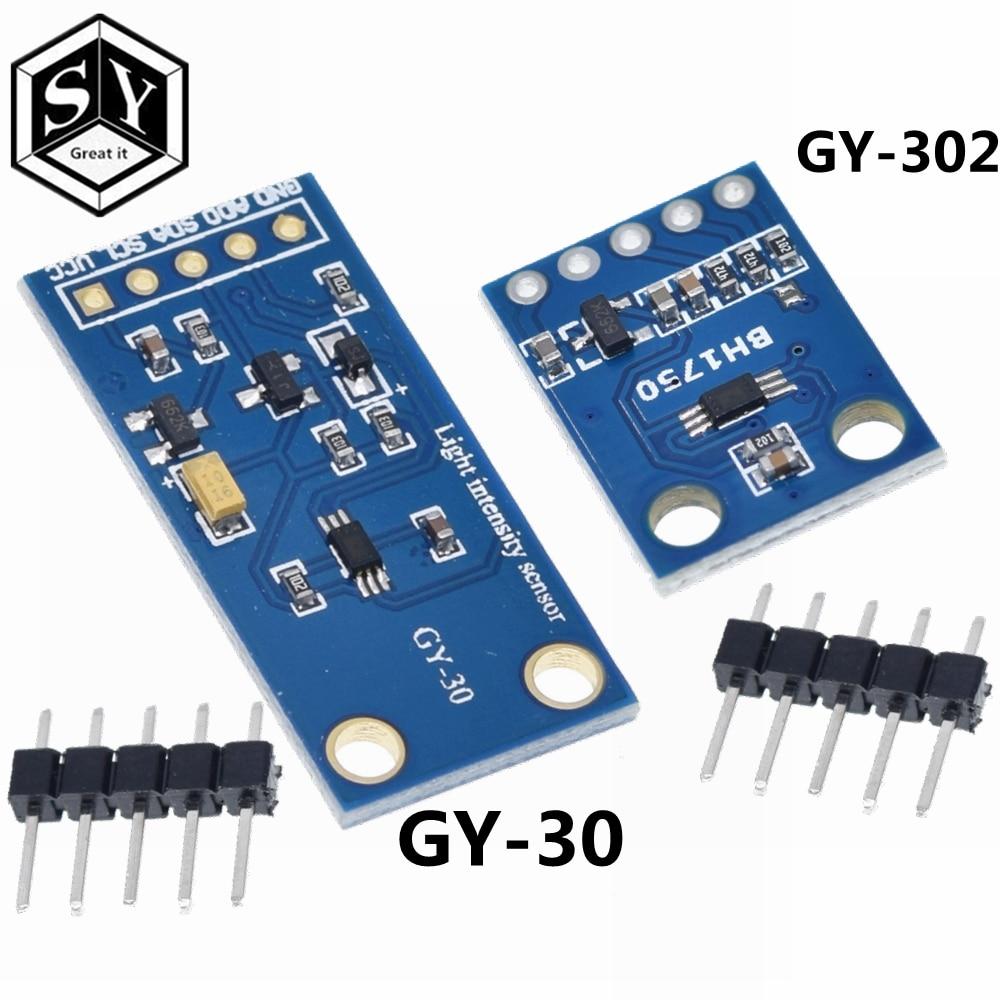 Ótimo iluminação, intensidade de luz módulo de iluminação 3 v-5 v para arduino it GY-30 GY-302 bh1750 bh1750fvi