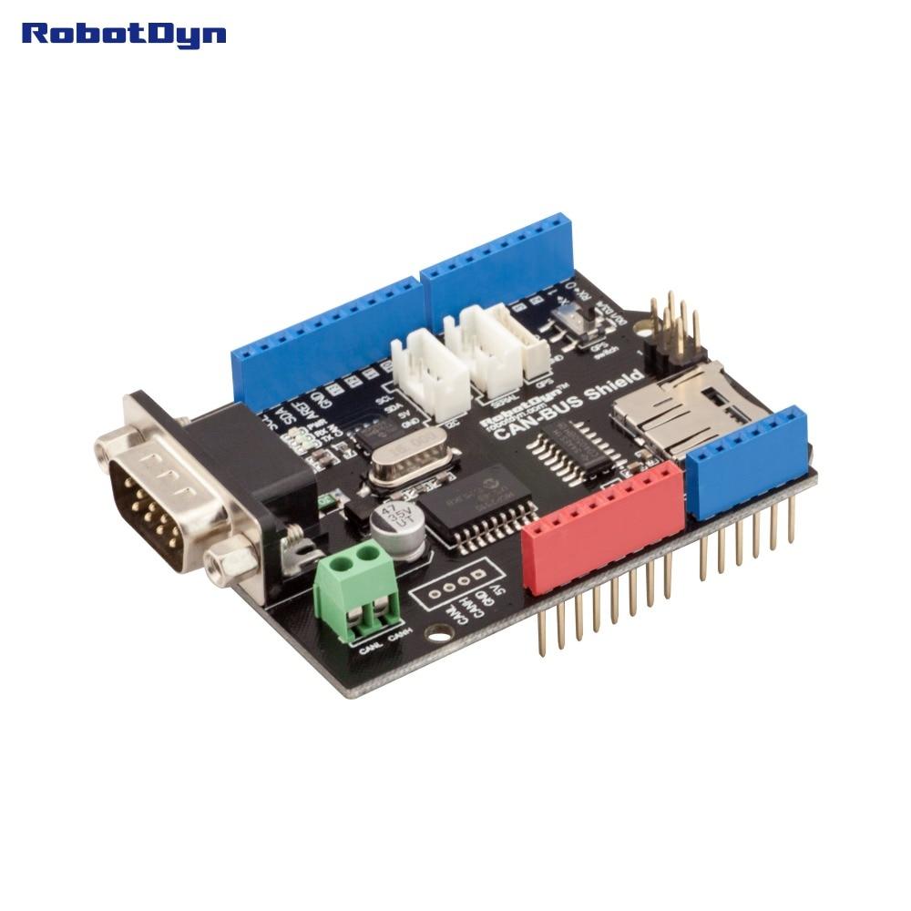 Щит CAN-BUS. Совместим с Arduino. MCP2515 (CAN-контр