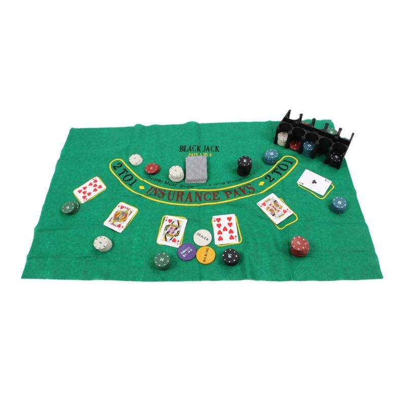 Super deal-200 fichas de bacará barganha conjunto de fichas de poker-pano de mesa blackjack-persianas-dealer-cartas de poker-com presente