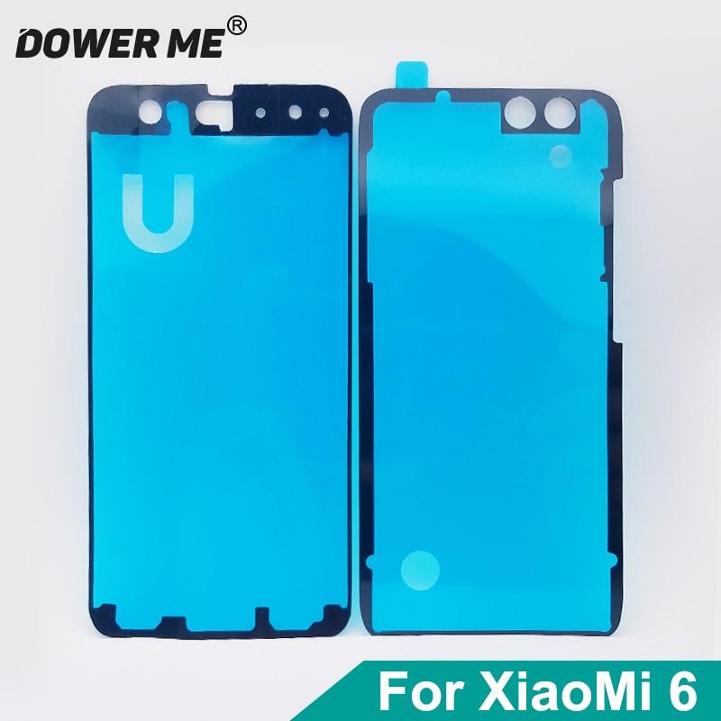 Dower Me для Xiaomi 6 Mi6, ЖК-экран, наклейка, передняя средняя рамка, задняя крышка, клей для двери