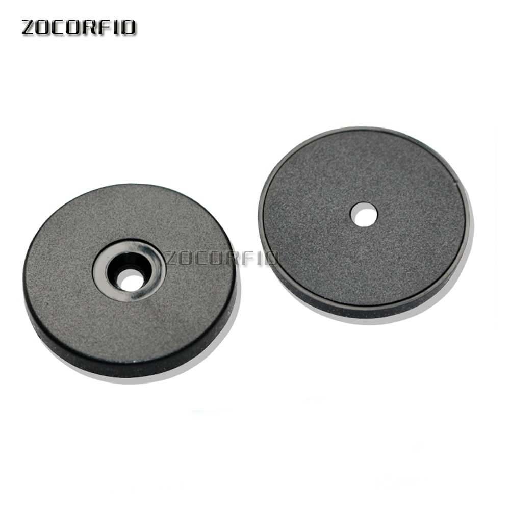 100 Uds. Diámetro 30mm 125KHZ T5557 RFID watchman punto botón/vigilancia RFID botón