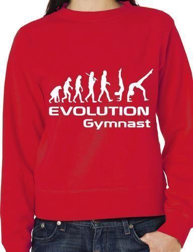 Эволюция гимнастики, мужские женские свитеры, джемперы, подарок на день рождения, больше размеров и яркости