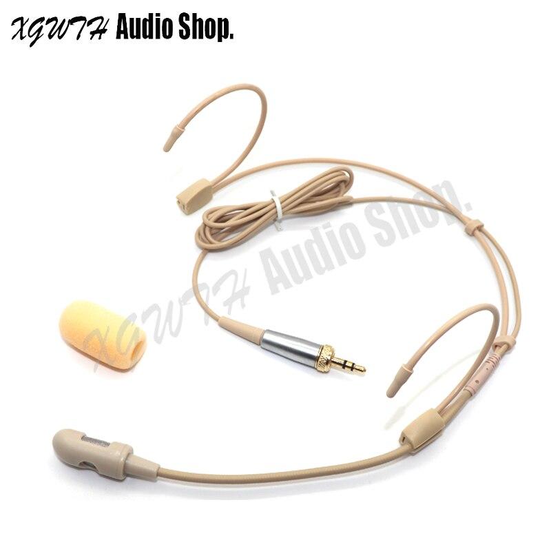 Auriculares profesionales micrófono unidireccional Hyper Cardioid condensador Mic para Sennheiser SISTEMA DE MICRÓFONO INALÁMBRICO 3,5mm